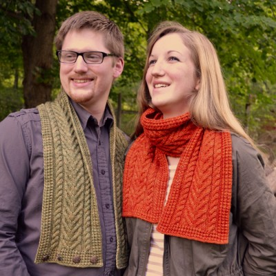 Cider Press Scarf and Cowl