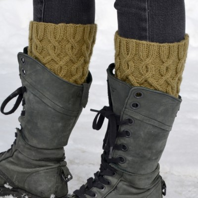 Entangled Boot Cuffs