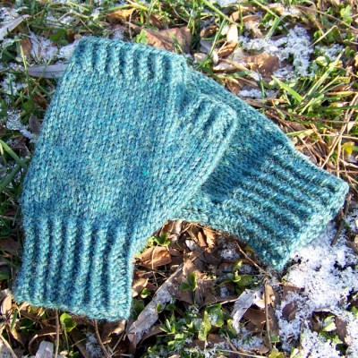 Pine Woods Fingerless Gloves