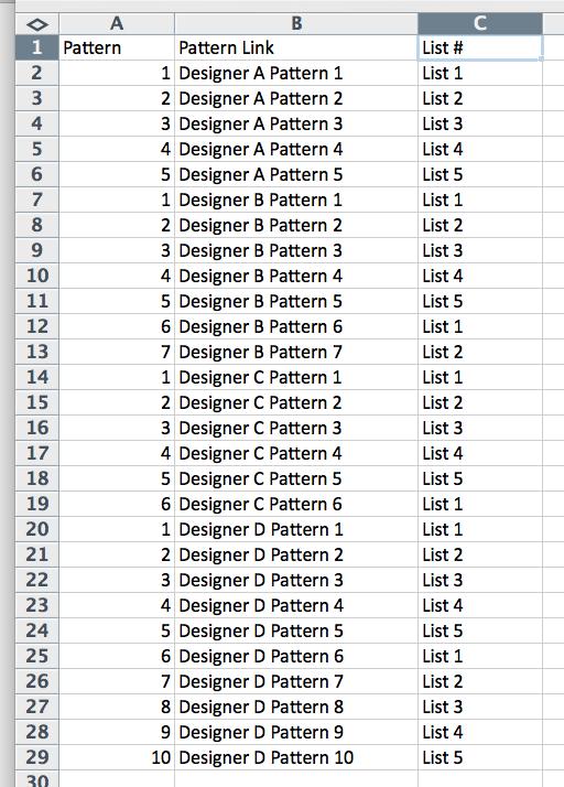 GAL Excel Sample 2
