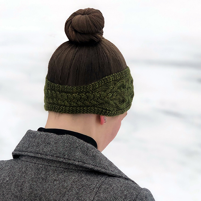 Lochmoor Headband Right Nape