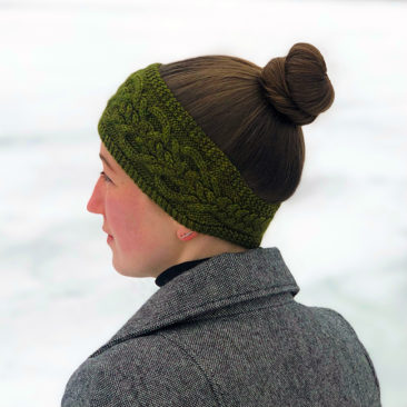 Lochmoor Headband Left Side